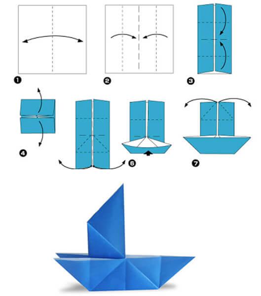 Кораблик для детей: различные способы создания со схемами и описанием korabl svoimi rukami 27