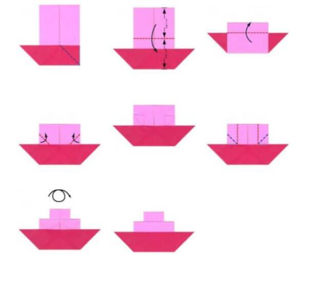Кораблик для детей: различные способы создания со схемами и описанием korabl svoimi rukami 30