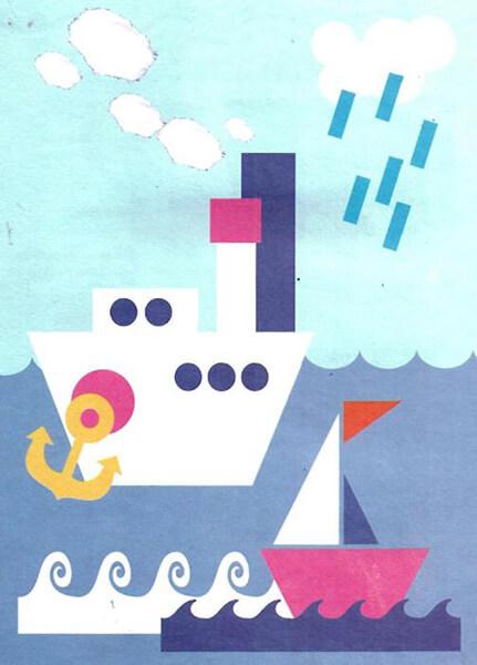 Кораблик для детей: различные способы создания со схемами и описанием korabl svoimi rukami 37