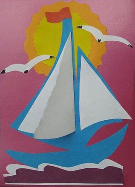 Кораблик для детей: различные способы создания со схемами и описанием korabl svoimi rukami 40