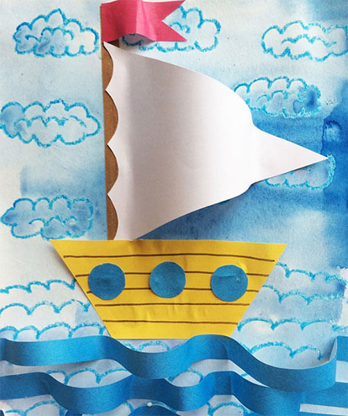 Кораблик для детей: различные способы создания со схемами и описанием korabl svoimi rukami 49