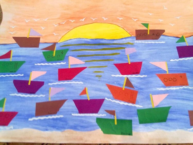 Кораблик для детей: различные способы создания со схемами и описанием korabl svoimi rukami 50