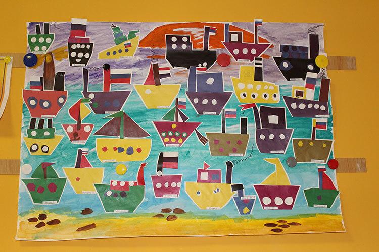 Кораблик для детей: различные способы создания со схемами и описанием korabl svoimi rukami 54