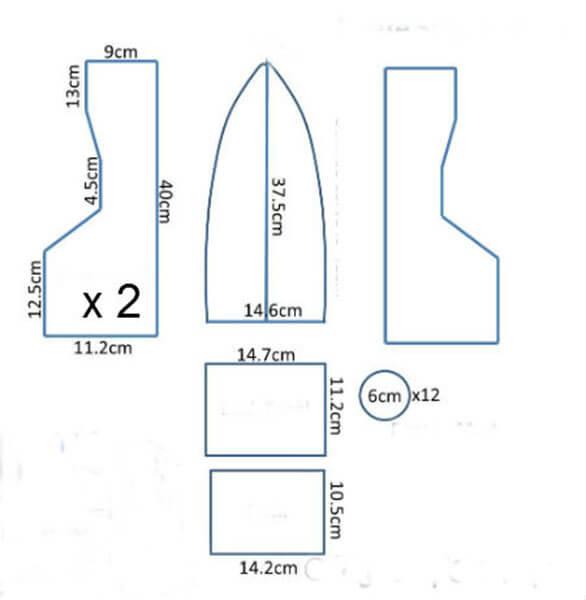 Кораблик для детей: различные способы создания со схемами и описанием korabl svoimi rukami 65