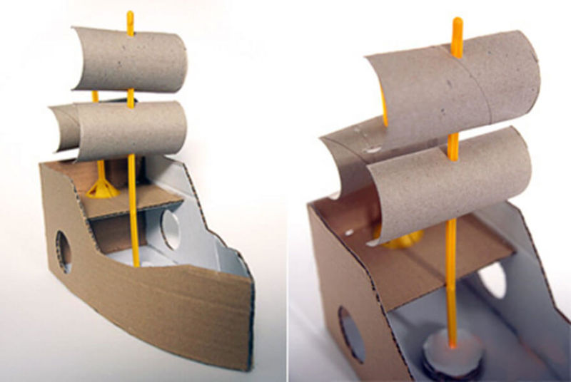 Кораблик для детей: различные способы создания со схемами и описанием korabl svoimi rukami 69