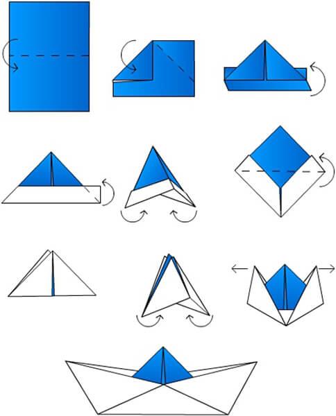 Кораблик для детей: различные способы создания со схемами и описанием korabl svoimi rukami 7