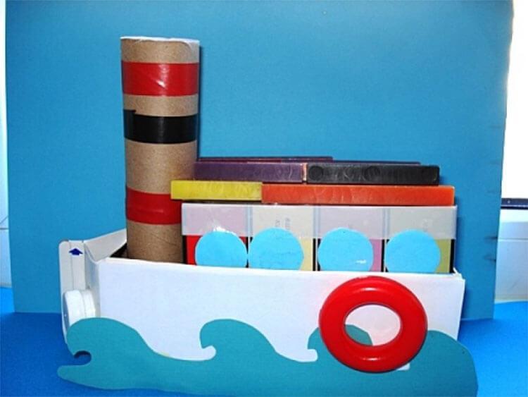 Кораблик для детей: различные способы создания со схемами и описанием korabl svoimi rukami 72