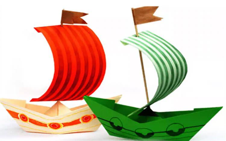 Кораблик для детей: различные способы создания со схемами и описанием korabl svoimi rukami 73
