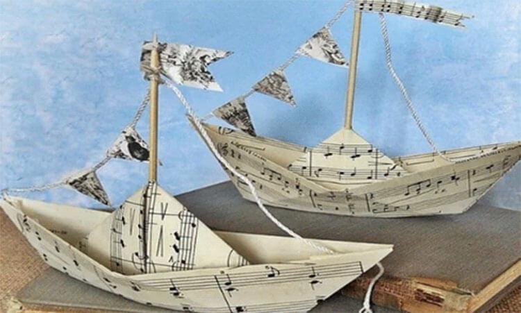 Кораблик для детей: различные способы создания со схемами и описанием korabl svoimi rukami 74