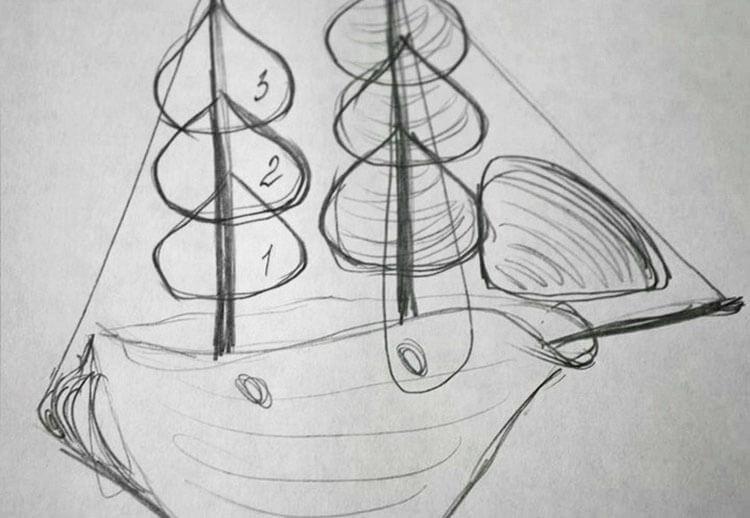 Кораблик для детей: различные способы создания со схемами и описанием korabl svoimi rukami 95