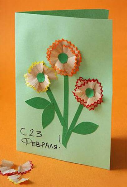 Открытки на 23 февраля: красивый подарок своими руками otkrytki na 23 fevralya otkrytki svoimi 83