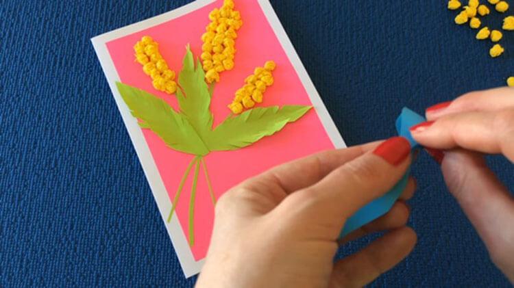 Открытки для любимых мам и бабушек своими руками: мастер классы с фото и описанием otkrytki na 8 marta svoimi rukami 106