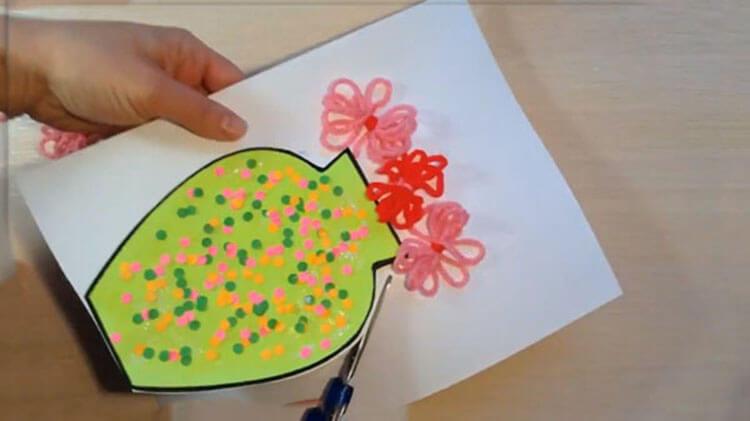 Открытки для любимых мам и бабушек своими руками: мастер классы с фото и описанием otkrytki na 8 marta svoimi rukami 116