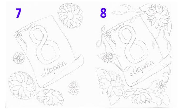 Открытки для любимых мам и бабушек своими руками: мастер классы с фото и описанием otkrytki na 8 marta svoimi rukami 35