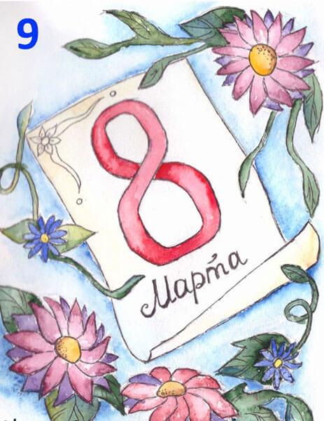 Открытки для любимых мам и бабушек своими руками: мастер классы с фото и описанием otkrytki na 8 marta svoimi rukami 36