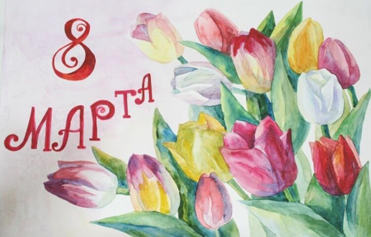 Открытки для любимых мам и бабушек своими руками: мастер классы с фото и описанием otkrytki na 8 marta svoimi rukami 39