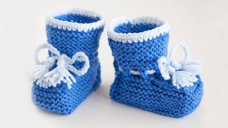 Пинетки для новорожденных малышей спицами: что можно связать для первой обуви малышам pinetki spicami s opisaniem i skhemami 4