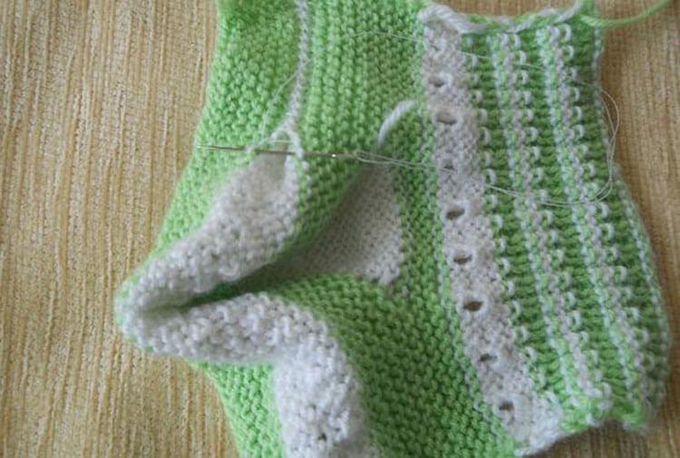 Пинетки для новорожденных малышей спицами: что можно связать для первой обуви малышам pinetki spicami s opisaniem i skhemami 57