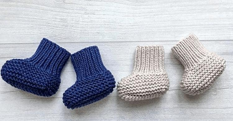 Пинетки для новорожденных малышей спицами: что можно связать для первой обуви малышам pinetki spicami s opisaniem i skhemami 70