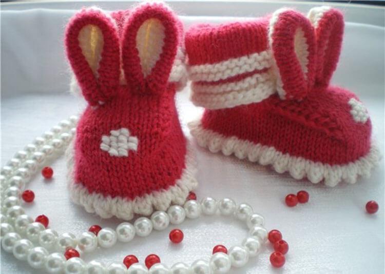Пинетки для новорожденных малышей спицами: что можно связать для первой обуви малышам pinetki spicami s opisaniem i skhemami 75