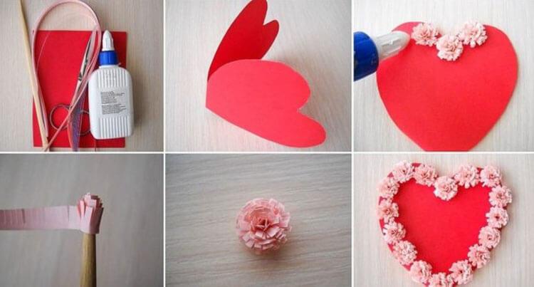 День святого Валентина: валентинки, открытки поделки любимым на 14 февраля podarki k 14 fevralya 103