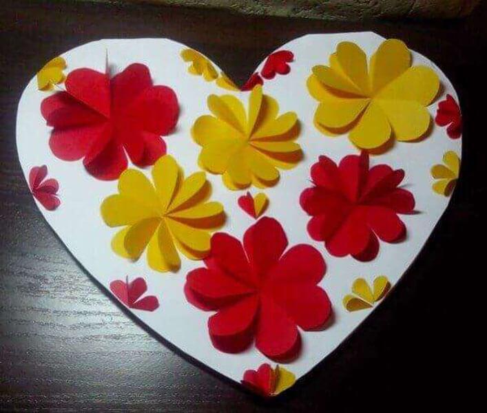 День святого Валентина: валентинки, открытки поделки любимым на 14 февраля podarki k 14 fevralya 104
