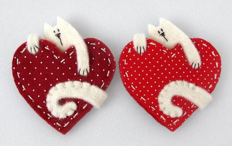 День святого Валентина: валентинки, открытки поделки любимым на 14 февраля podarki k 14 fevralya 111