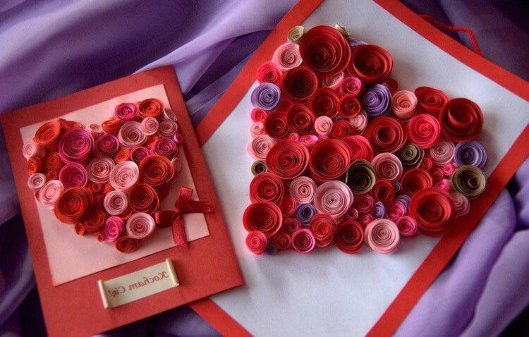 День святого Валентина: валентинки, открытки поделки любимым на 14 февраля podarki k 14 fevralya 2