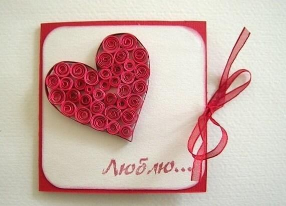 День святого Валентина: валентинки, открытки поделки любимым на 14 февраля podarki k 14 fevralya 24
