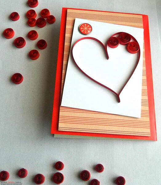 День святого Валентина: валентинки, открытки поделки любимым на 14 февраля podarki k 14 fevralya 36