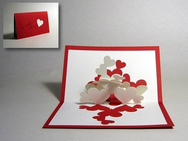 День святого Валентина: валентинки, открытки поделки любимым на 14 февраля podarki k 14 fevralya 42