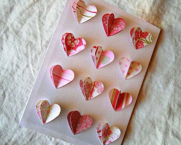 День святого Валентина: валентинки, открытки поделки любимым на 14 февраля podarki k 14 fevralya 49