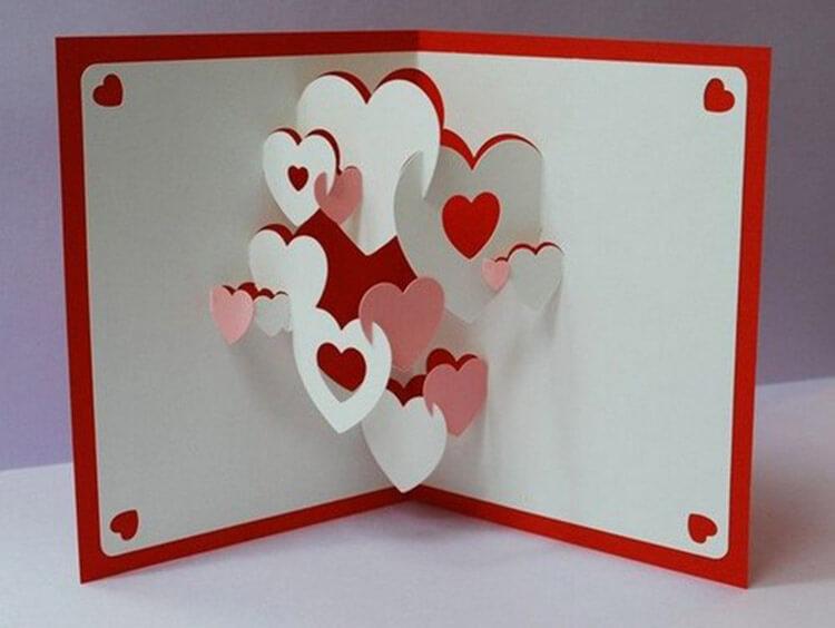 День святого Валентина: валентинки, открытки поделки любимым на 14 февраля podarki k 14 fevralya 50