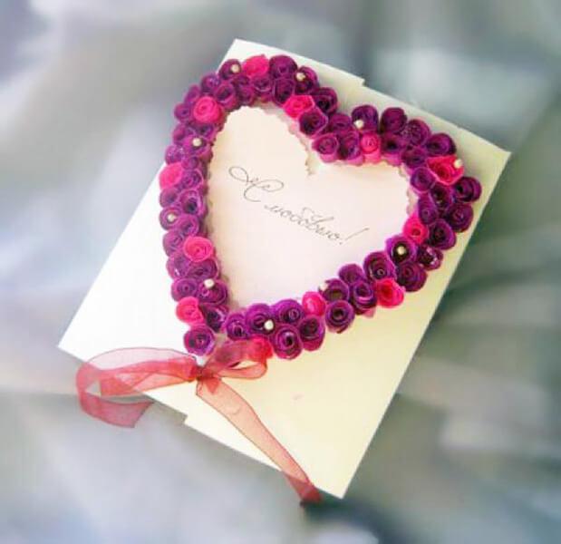 День святого Валентина: валентинки, открытки поделки любимым на 14 февраля podarki k 14 fevralya 53