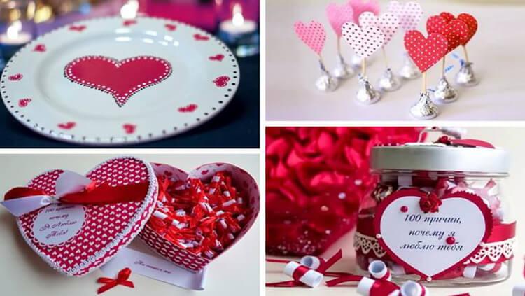 День святого Валентина: валентинки, открытки поделки любимым на 14 февраля podarki k 14 fevralya 54