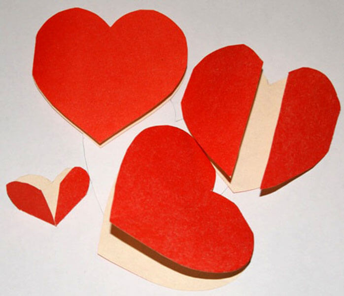 День святого Валентина: валентинки, открытки поделки любимым на 14 февраля podarki k 14 fevralya 97