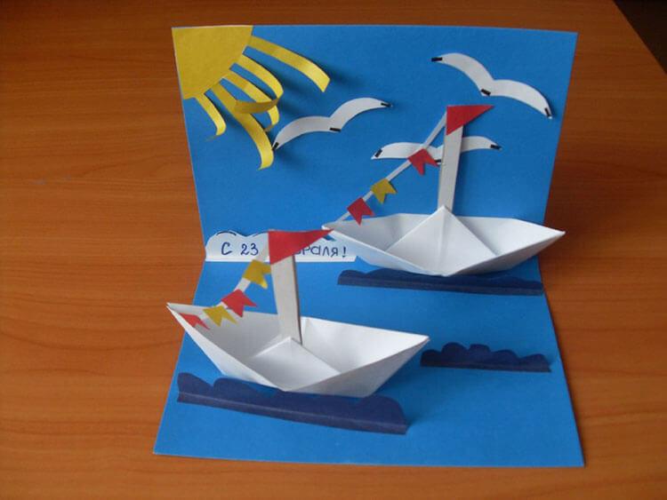 Поделки на 23 февраля: самое интересное для конкурса в школу и садик podelki na 23 fevralya svoimi rukami 96