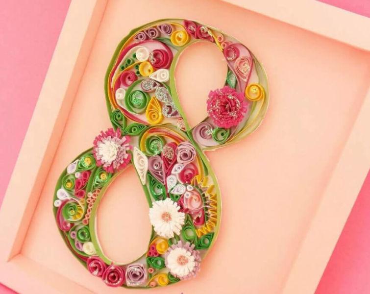 Поделки на 8 марта для любимых мам: подарок с душой своими руками podelku na 8 marta svoimi rukami 1