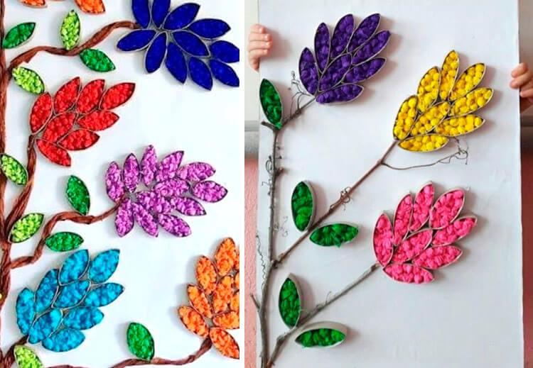 Поделки на 8 марта для любимых мам: подарок с душой своими руками podelku na 8 marta svoimi rukami 107