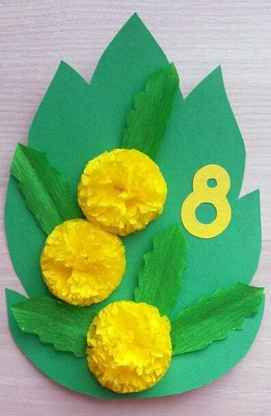 Поделки на 8 марта для любимых мам: подарок с душой своими руками podelku na 8 marta svoimi rukami 11