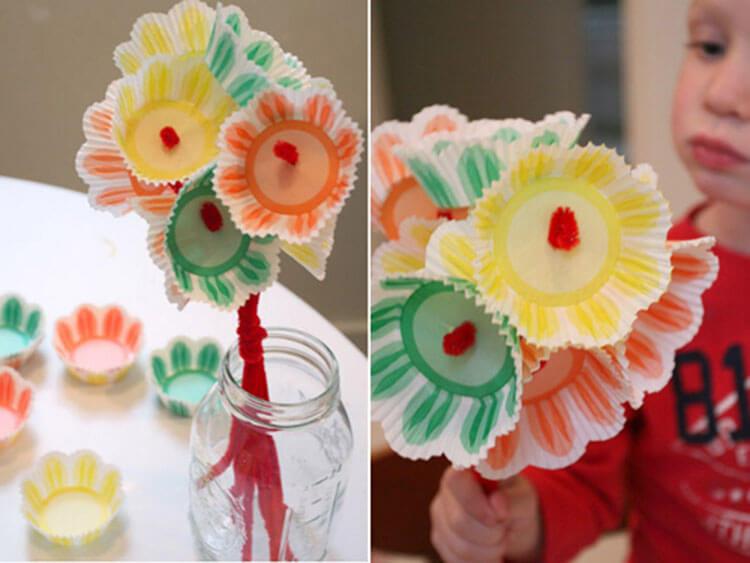 Поделки на 8 марта для любимых мам: подарок с душой своими руками podelku na 8 marta svoimi rukami 117