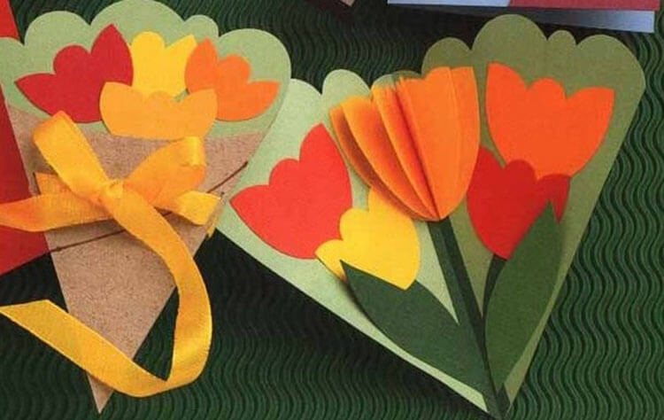 Поделки на 8 марта для любимых мам: подарок с душой своими руками podelku na 8 marta svoimi rukami 13