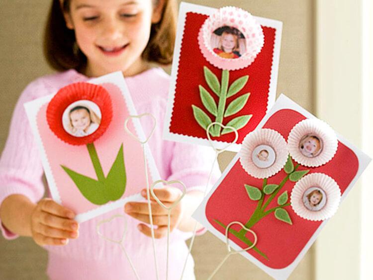 Поделки на 8 марта для любимых мам: подарок с душой своими руками podelku na 8 marta svoimi rukami 132