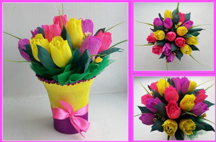 Поделки на 8 марта для любимых мам: подарок с душой своими руками podelku na 8 marta svoimi rukami 136