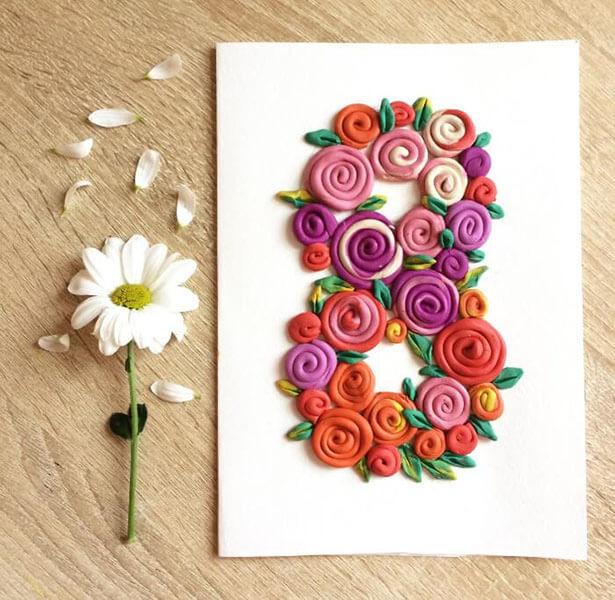 Поделки на 8 марта для любимых мам: подарок с душой своими руками podelku na 8 marta svoimi rukami 38
