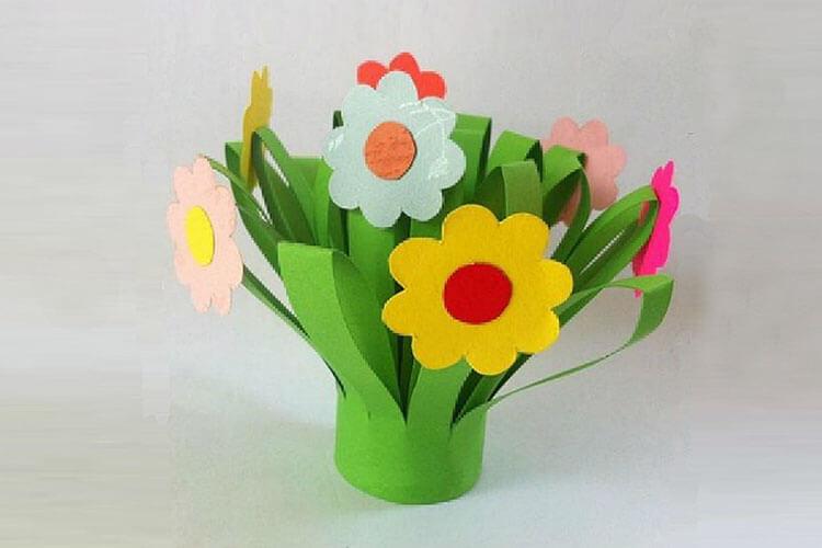 Поделки на 8 марта для любимых мам: подарок с душой своими руками podelku na 8 marta svoimi rukami 4
