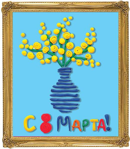 Поделки на 8 марта для любимых мам: подарок с душой своими руками podelku na 8 marta svoimi rukami 40