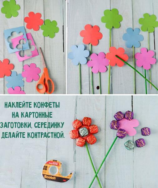 Поделки на 8 марта для любимых мам: подарок с душой своими руками podelku na 8 marta svoimi rukami 70