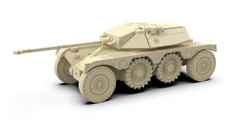 Поделка Танк из различных материалов: отличный подарок на 23 февраля tank svoimi rukami 139