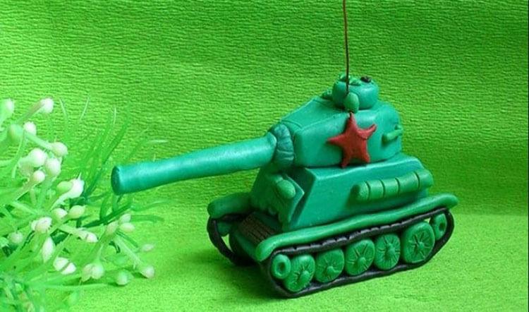 Поделка Танк из различных материалов: отличный подарок на 23 февраля tank svoimi rukami 23